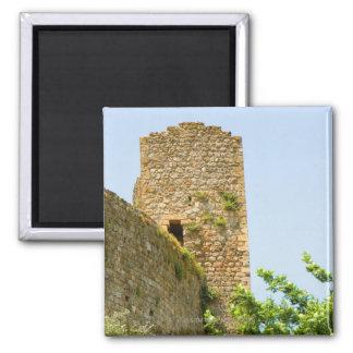 古代建物の低い角度眺め、 マグネット