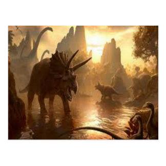 古代恐竜 ポストカード