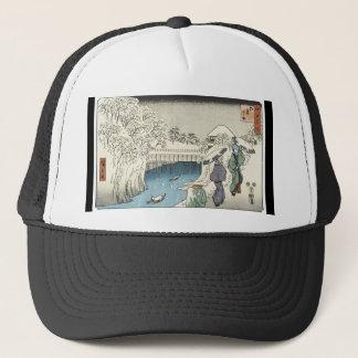 古代日本のな芸術の帽子 キャップ