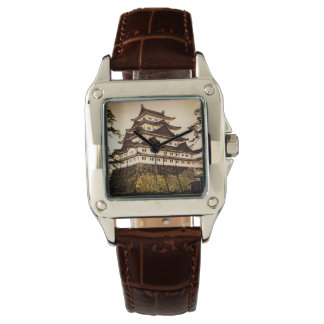 古代日本ヴィンテージの名古屋城の名古屋の城 腕時計