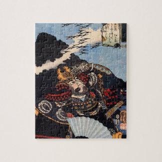 古代武士の絵画 ジグソーパズル