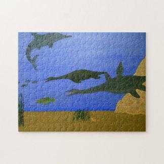 古代海洋 ジグソーパズル
