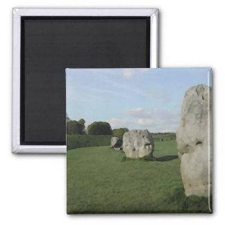 古代石造りの円。 Avebury、ウィルトシャー、イギリス マグネット