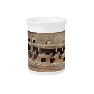 古代砕片の建物 ピッチャー