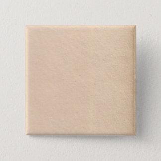 古代紙 5.1CM 正方形バッジ