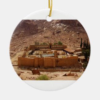 古代聖者のキャサリンの修道院シナイエジプト セラミックオーナメント