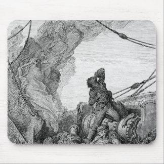 「古代船員」3の霜からの場面 マウスパッド