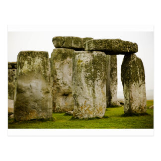 古代Stonehengeのイギリスの郵便はがき ポストカード
