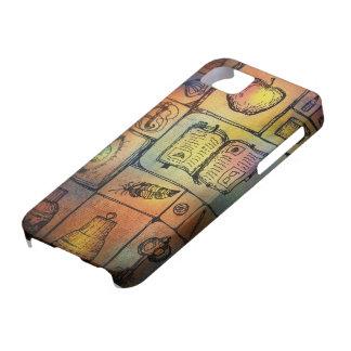 古書のヴィンテージの芸術のIphone 5の場合 iPhone SE/5/5s ケース