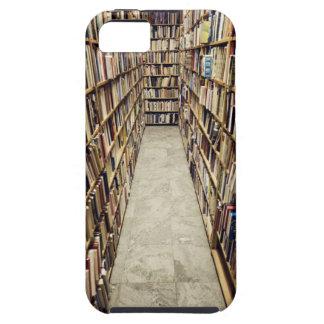 古書店スウェーデンのインテリア iPhone SE/5/5s ケース