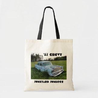 古物置場のJunkeez 「57 Chevyの予算のトート トートバッグ