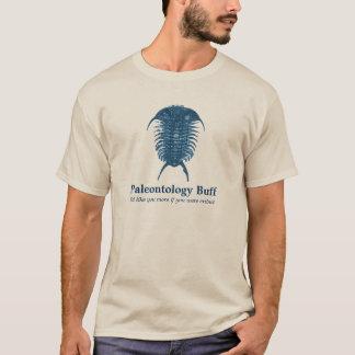 古生物学のもみ革 Tシャツ