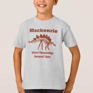 古生物学の恐竜のおもしろい Tシャツ