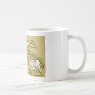 古生物学者のPterodactylの化石 コーヒーマグカップ