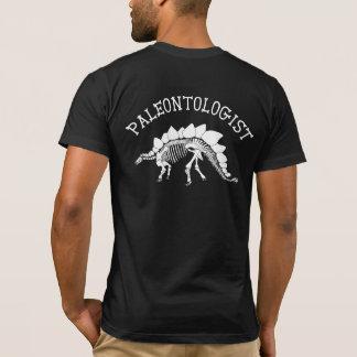 古生物学者(ステゴサウルス) Tシャツ