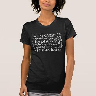 句読点(暗い) Tシャツ