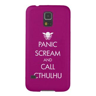 叫びのパニックおよび呼出しCthulhu Galaxy S5 ケース