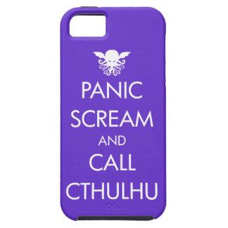 叫びのパニックおよび呼出しCthulhu iPhone SE/5/5s ケース