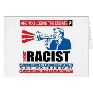 叫びの人種差別主義者 カード