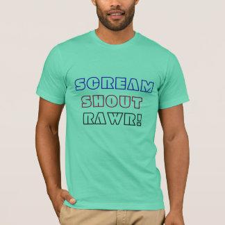叫びの叫びRawr! Tシャツ