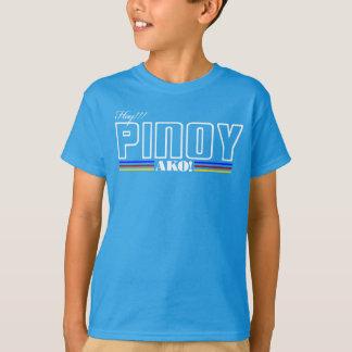 叫び声のフィリピン人Ako -フィリピンのワイシャツ-フィリピン人の表現 Tシャツ