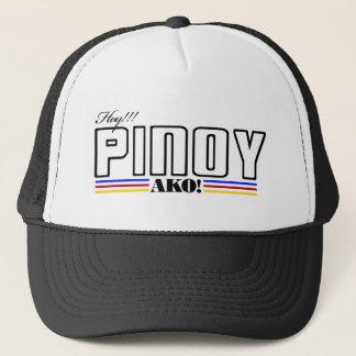 叫び声のフィリピン人Ako -フィリピンのワイシャツ-フィリピン キャップ