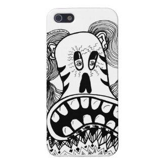 叫び iPhone SE/5/5sケース