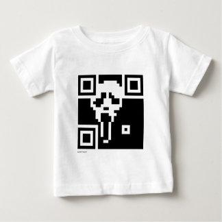 叫びQRコード ベビーTシャツ