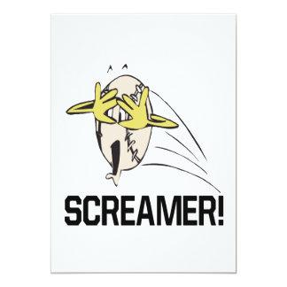 叫ぶ人 カード