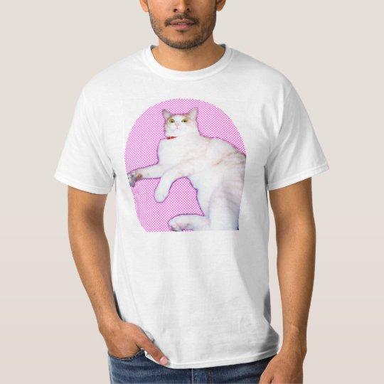 可愛い猫[a cat 'kawaii'] tシャツ