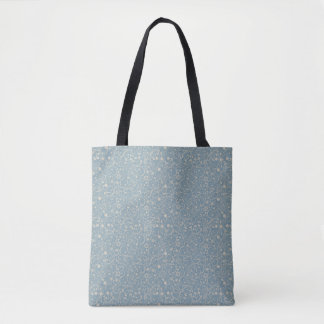可憐なブルーグレーシンプルによって印刷されるパターン|トートバック トートバッグ