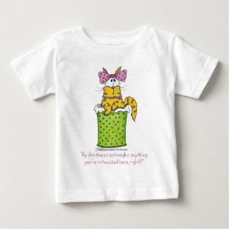 可憐な廃物の子猫 ベビーTシャツ
