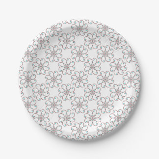 可憐なOctoフルーアの紙皿 ペーパープレート