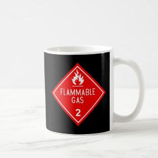可燃性ガス コーヒーマグカップ
