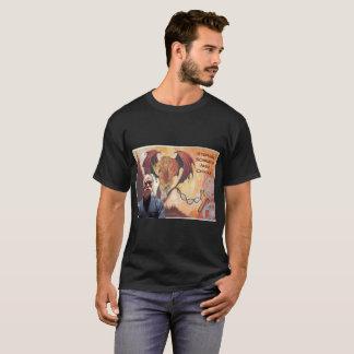 可聴周波キメラの人の基本的な暗いTシャツ Tシャツ