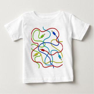 可聴周波ケーブル ベビーTシャツ