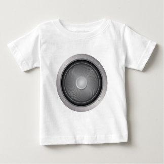 可聴周波スピーカー ベビーTシャツ