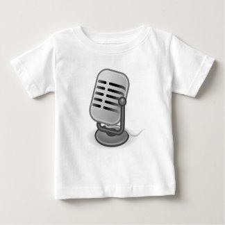 可聴周波入力マイクロフォン ベビーTシャツ