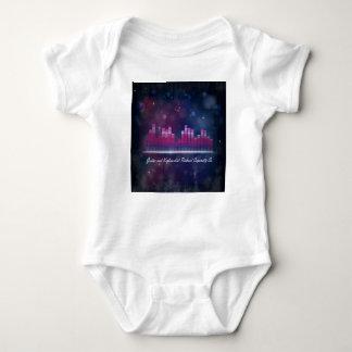 可聴周波平衡装置の表示および泡乳児のクリーパー ベビーボディスーツ