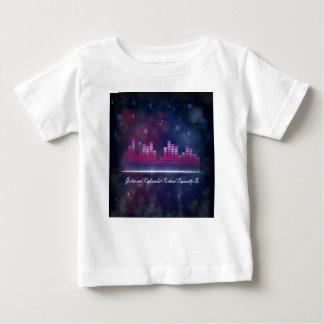可聴周波平衡装置の表示および泡乳児のTシャツ ベビーTシャツ