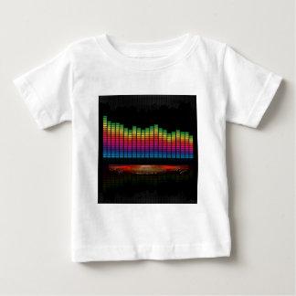 可聴周波平衡装置の表示 ベビーTシャツ