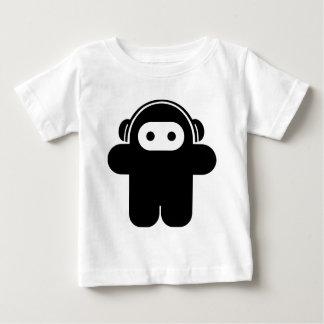 可聴周波忍者 ベビーTシャツ