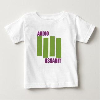 可聴周波旗 ベビーTシャツ