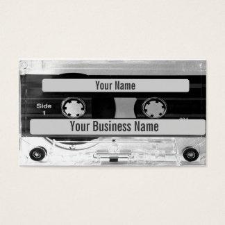 可聴周波音楽カセットテープ名刺 名刺