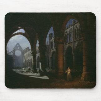 台なしの大修道院、1848年のインテリア マウスパッド