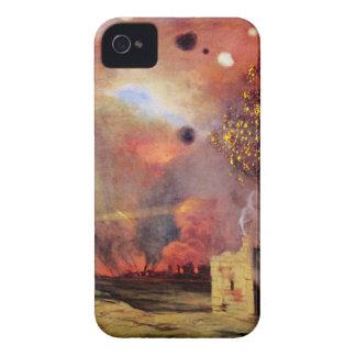台なしを離れた景色およびFelix Vallotton著火 Case-Mate iPhone 4 ケース