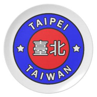 台北台湾 プレート