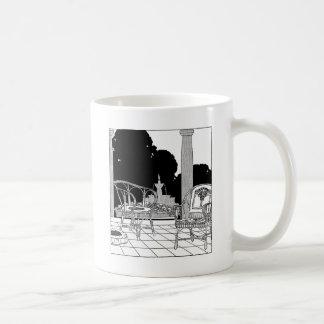 台地のヤナギの椅子 コーヒーマグカップ