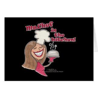台所のMs.Chef カード