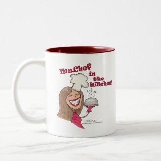 台所のMs.Chef ツートーンマグカップ